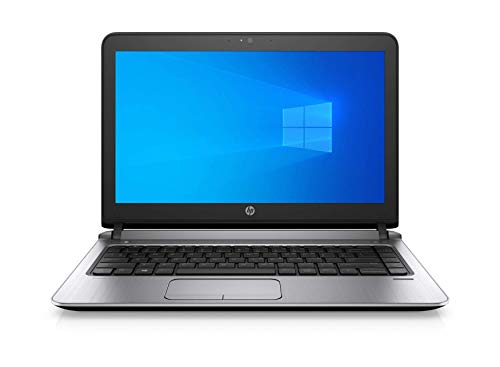 HP ProBook 430 G3 Notebook 13.3' 6th gen Intel Core i5 2.3GHz 8GB RAM 128GB SSD Webcam Windows 10 Pro (Renewed)