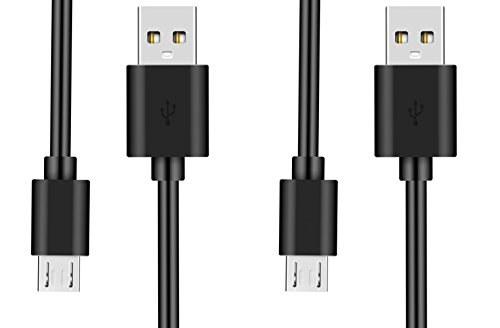 SDTEK Cavi Micro USB 2X (1 Metro) Caricabatterie ad Alta velocità per Samsung, LG, Huawei, ASUS, Sony, PS4 e Altro