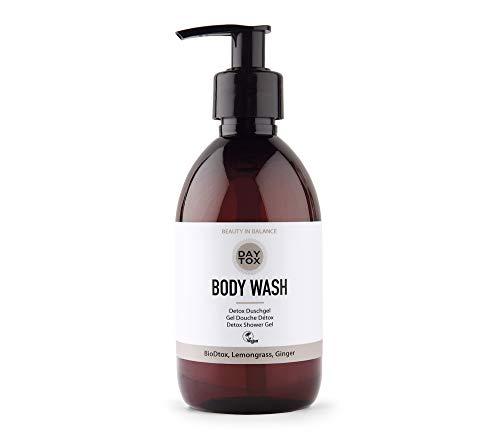 DAYTOX - Body Wash - Pflegendes Duschgel für schöne und straffe Haut - Vegan, ohne Farbstoffe, silikonfrei und parabenfrei - 1 x 300 ml