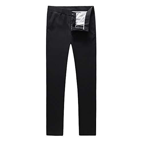 Calvin Klein Men's Slim Fit Suit Separates, Solid Black, 48 Regular