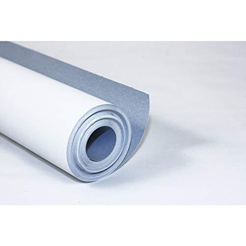 Clairefontaine 34166C Rolle Malpapier (120 g, 10 x 0,50 m, ideal für Gruppenaktivitäten) 1 Rolle weiß/blau
