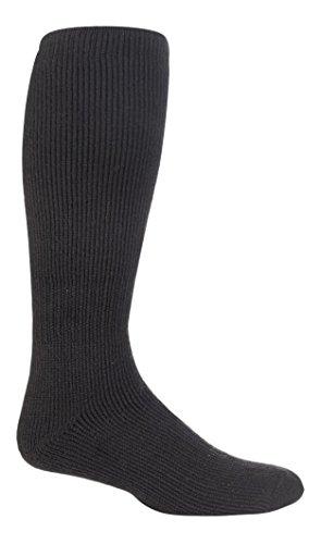 HEAT HOLDERS - Chaussettes extra longues thermiques (1 paire) - Homme (Homme EUR 39-45) (Charbon)