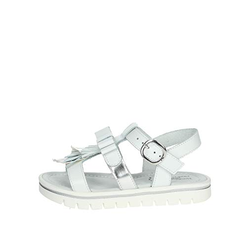 Nero Giardini Sandalo Bambina Bianco E031617f