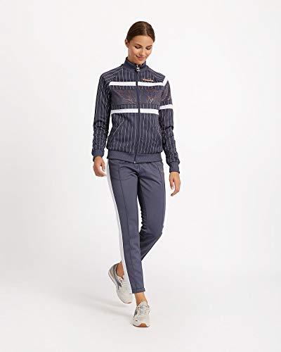 Diadora 502173296 - Pantaloni Sportivi da Donna, Donna, Pantaloni, 502173296, Gr Grisaille Rosa Spumant, S
