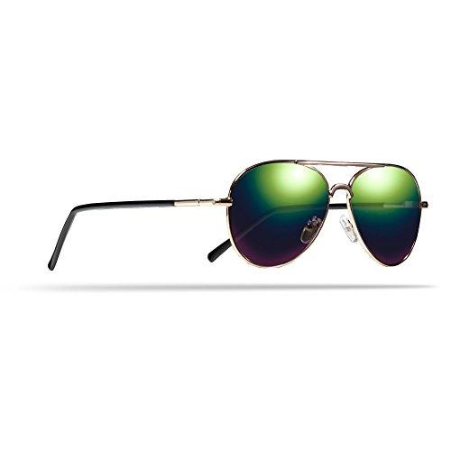 Trespass Childrens Hologram Sonnenbrille (Einheitsgröße) (Gols Metall)