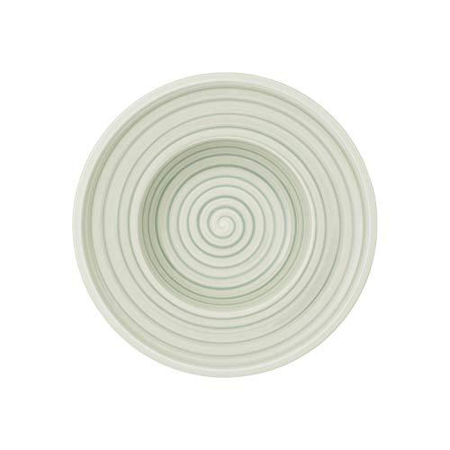 Villeroy & Boch Artesano Nature Vert Assiette creuse, 25 cm, Porcelaine Premium, Vert