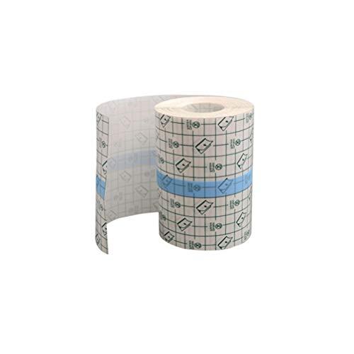 Milisten Rotolo di Pellicola Trasparente Copertura Impermeabile per Medicazione Nastro Adesivo Fasciatura Adesiva Ritenzione Medica Nastri Adesivi 10 Cm X 10 M
