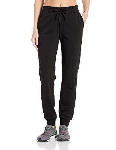 adidas Damen Essentials Linear Pants, Damen, Unterhose, Essentials Linear Pant, schwarz/weiß, XX-Large Long