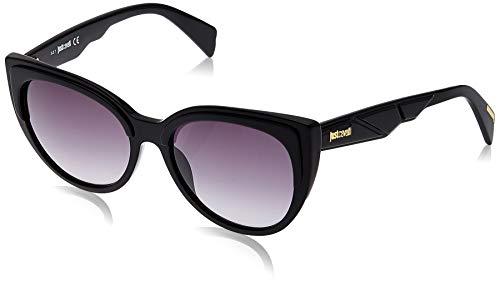 Just Cavalli JC836S Gafas de sol, Negro (Shiny Black/Gradient Smoke), 56.0 para Mujer