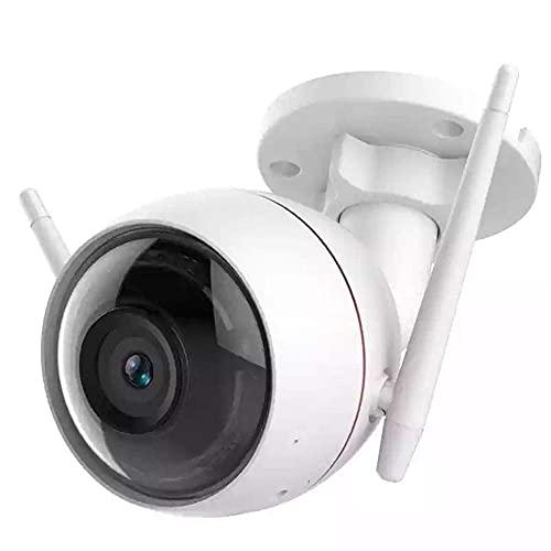 Telecamera di Sicurezza Senza Fili, Telecamera di Sorveglianza 1080P Smart Home HD Telecamere Ip WiFi per Interni Ed Esterni con Visione Notturna, Audio Bidirezionale, WiFi Compatibile Resistente 2.4