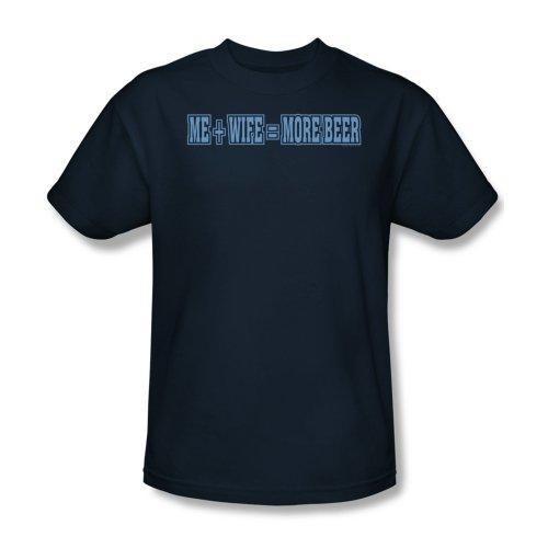 Mehr Bier - Männer T-Shirt In Navy, XXX-Large, Navy