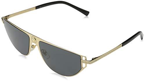 VERSACE  Herren 0VE2213 Sonnenbrille, Gold, 57.0