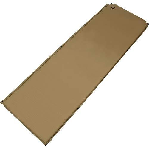 [クイックキャンプ] 車中泊マット 5cm 厚手 シングルサイズ サンド QC-CM5.0