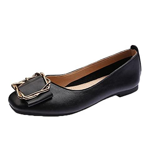 LYXIANG Mujer Bailarinas, Dolly Shoes Zapatos Planos De Suela Suave Zapatos Planos...