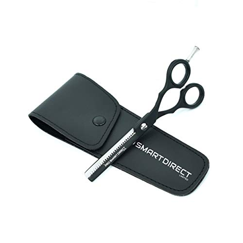 "PRO Smart Proffesional Hair THINNING Barber Scissors 5.5"" (Black)"