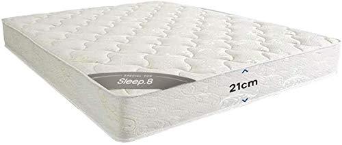 Sleep8 Colchón Spring Mattress 200X150 CM. Colchón con núcleo de muelles y una Comodidad de Lujo