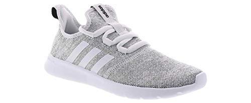 adidas Women's Cloudfoam Pure 2.0 Running Shoe, Cloud White/White/Black, 5