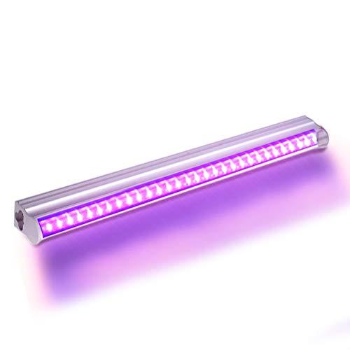 UV Beleuchtung UV Schwarzlicht LED Lichteffekt Bühnenlicht Led Bühnenscheinwerfer UV LED für Bar Beleuchtung für Party Bar Karneval Halloween & Weihnachten (12w)