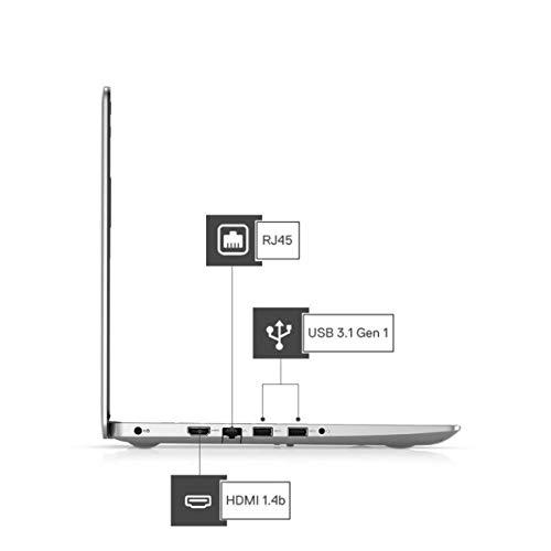Dell Inspiron 3493 14-inch HD Laptop (10th Gen i3-1005G1/4GB/1TB HDD/Win 10 + MS Office/Intel HD Graphics/Silver) D560193WIN9SE