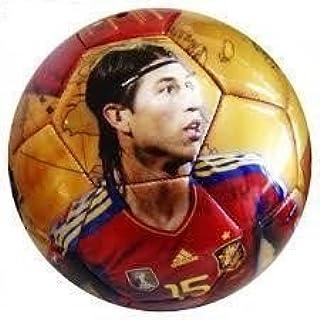 Balon de futbol de la roja Sergio Ramos Seleccion española: Amazon.es: Juguetes y juegos