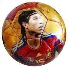 Balon de futbol de la roja Sergio Ramos Seleccion española