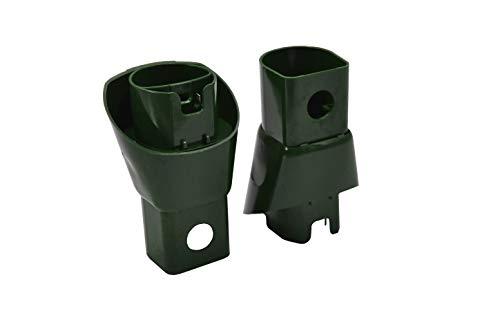 Elektro-Adapter AD13 geeignet zum Verbinden von Vorwerk Kobold 130,131,135,136,140, Tiger 252,260,265 mit Teppichbürste ET 340, 31,30,21,20