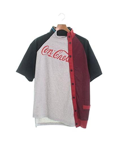 kolor カラー Tシャツ・カットソー メンズ グレーx紺x赤等 3(L位) 【中古】