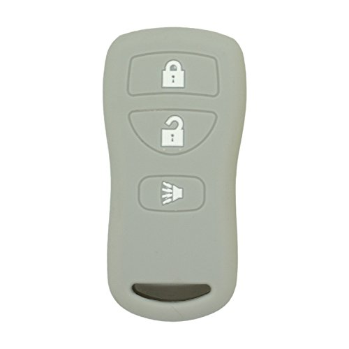 SEGADEN Silicone Cover Protector Case Skin Jacket fit for KIA 4 Button Smart Remote Key Fob CV4150 Rose