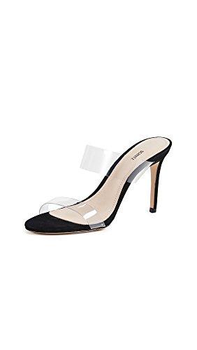 SCHUTZ Women's Ariella Strappy Sandals, Black, 7 Medium US