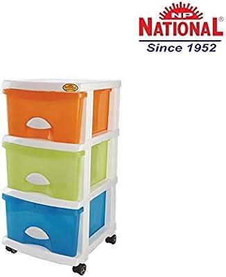 National Store-IT 190 Multipurpose Storage Drawer,Multi-Color
