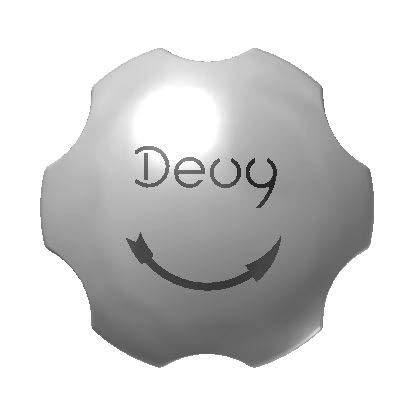 DEUY, Bio professionelle Flaschenöffner für Gewerbe und Haushalt, Küchenhelfer für Senioren, Farbe Silber, Schraubverschluss CO2- Flasche