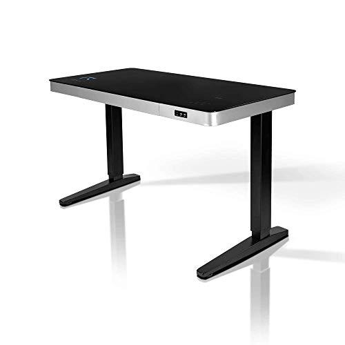 REKT RGo Touch Desk 120 Negro Escritorio eléctrico regulable en altura 120...