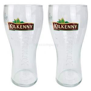 Kilkenny Bier Bierglas Glas GläserSet - 2X Biergläser 0,5l geeicht