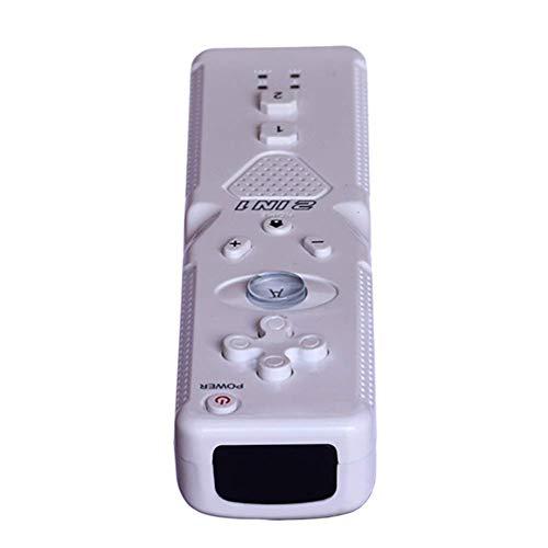 KUANDARGG Gamepad Remote Double Vibration Gamepad Joystick, Wireless Gamepad Remote Gamepad Joystick-Schalter, Schwarz, White