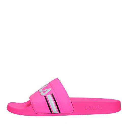 FILA Oceano wmn, Sandalia Mujer, Rosado (Neon Pink), 36 EU