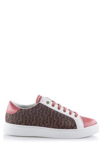 Aigner Damen Sneaker Diane Rosa/Braun - 41