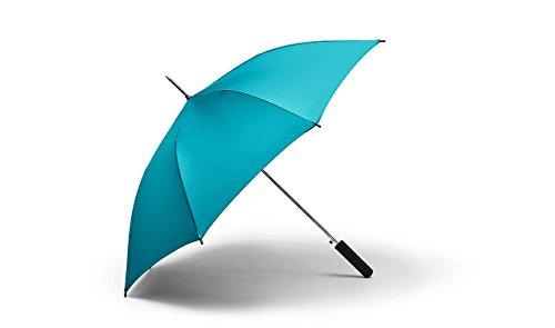Original MINI Regenschirm Schirm Stockschirm aqua blau - Kollektion 2016/18