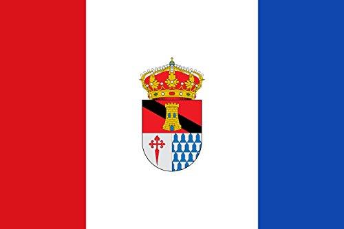 magFlags Bandera Large Escudo del municipio de Torremayor; en Badajoz | Bandera Paisaje | 1.35m² | 90x150cm