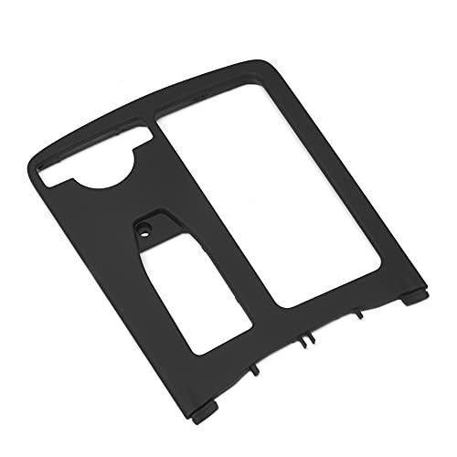 Fuaensm Accessoire intérieur de voiture - Boîte de rangement pour console centrale - Porte-gobelet - Garniture de rangement pour Mercedes-Benz Classe C W204 2007-2014, Noir ,
