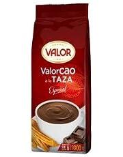 Valor- Valorcao a la Taza- Especial - Cacao en Polvo - Sin Gluten - Ideal para Acompañar con Churros1 Kilogramo