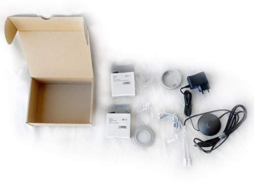 Juego de focos LED empotrables para muebles, empotrables o empotrados, 1 unidad