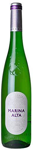 MARINA ALTA vino blanco DO Alicante botella 75 cl