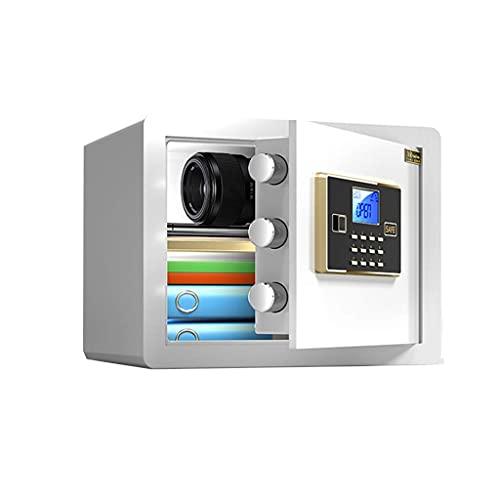 HCYY Cajas Fuertes de Seguridad Caja de Seguridad para el hogar, Mini Caja de Seguridad electrónica Digital, Gabinetes con Cerradura, Caja Fuerte para Dinero, Joyas, Objetos de Valor en Efectivo