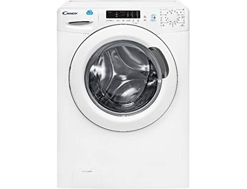 Candy CS 13102D3/1-47 Autonome Charge avant 10kg 1300tr/min A+++ Blanc machine à laver - Machines à laver (Autonome, Charge avant, Blanc, boutons, Rotatif, Gauche, 180°)