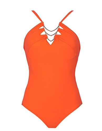Maryan Mehlhorn Expressions Badeanzug in Mandarine 8995/415-205 10 UK/38 DE - D Cup