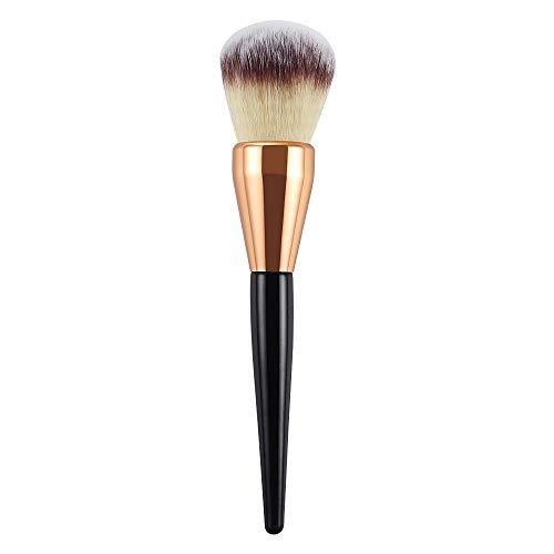 WFBD-CN Pinceau de Maquillage Grand Pinceau Poudre Simple Pinceau de Maquillage poignée en Bois Outils gaule Beauté Jeu de Pinceau de Maquillage (Handle Color : Gold)