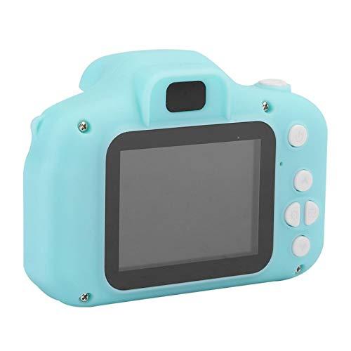 Shipenophy Digitalkamera 2.0in IPS-Bildschirm D600-0164-3703 Augenfreundliche 0308-Objektiv-Minikamera Unterstützung in Lebensmittelqualität beim Aufnehmen von Fotos, Aufnehmen von Videos(Green)