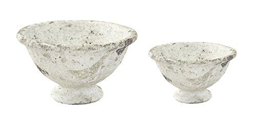 Pflanz-Gefäß Schale in Steinoptik 2 Stück - klein und groß