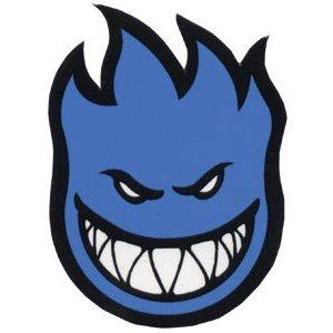 スピットファイア (SPITFIRE) FIREBALL BLUE (M) ステッカー デカール スケートボード スケボー
