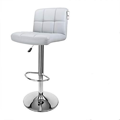 Display4top Sgabelli da Bar, girevoli a 360 Gradi, sedie Imbottite morbide